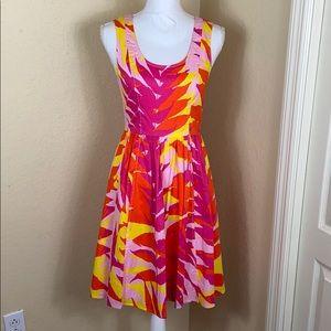 Plenty by Tracy Reese Teesa Sunset Palm dress 4